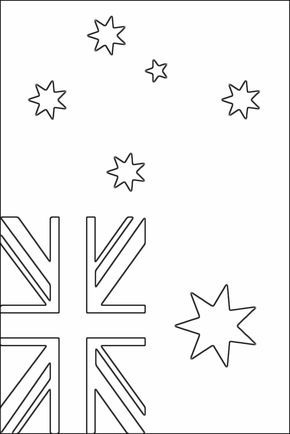 Australian flag coloring page - Free Printable Coloring Pages ...