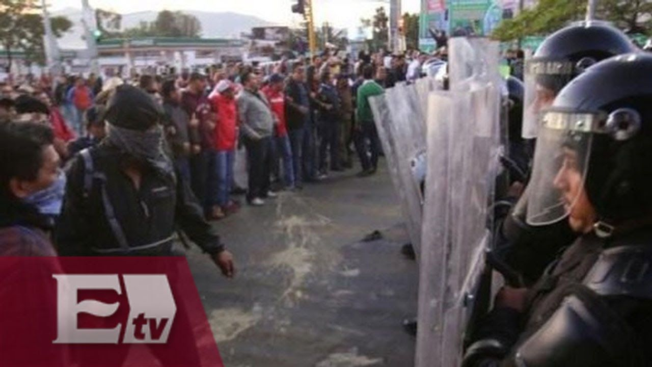 Crónica de una jornada violenta en Oaxaca / Hiram Hurtado