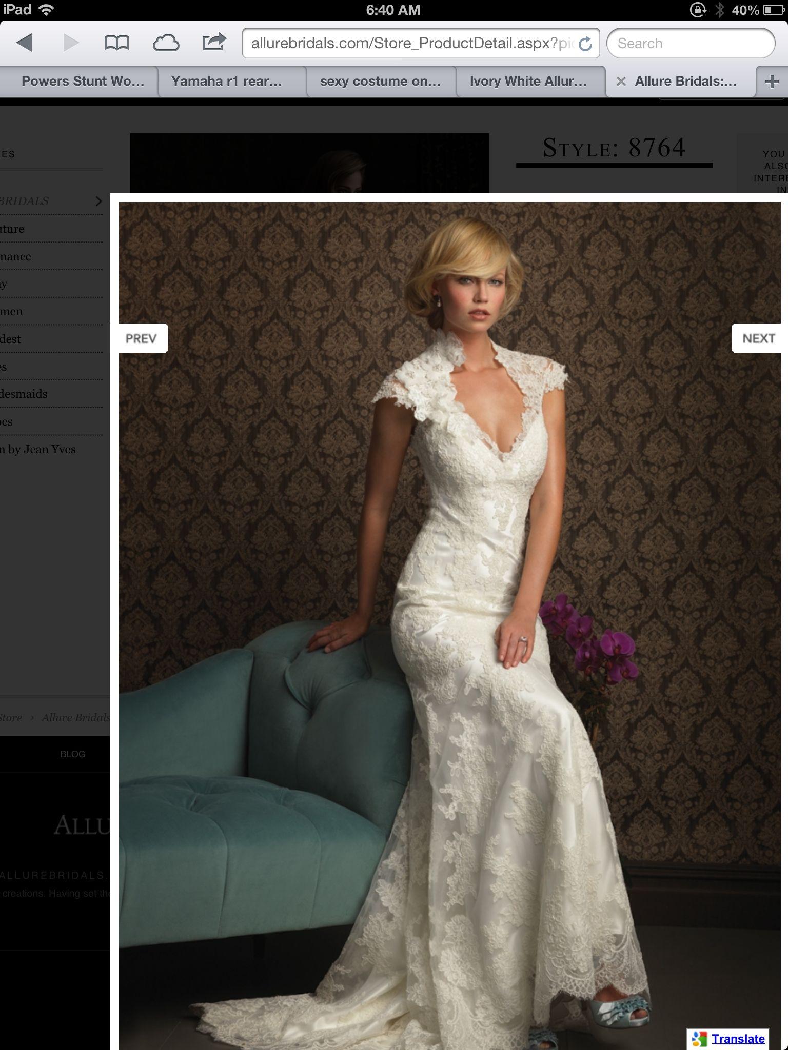 White lace wedding dress i do pinterest white lace wedding
