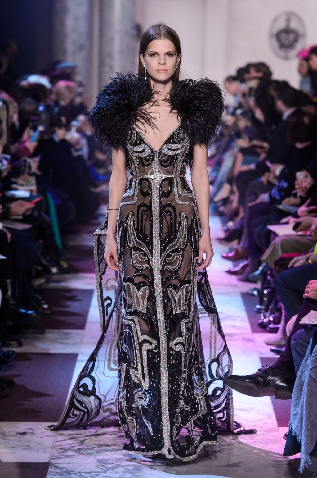 ELIE SAAB\'S SPRING 2018 COUTURE COLLECTION | Vestidos de festa ...