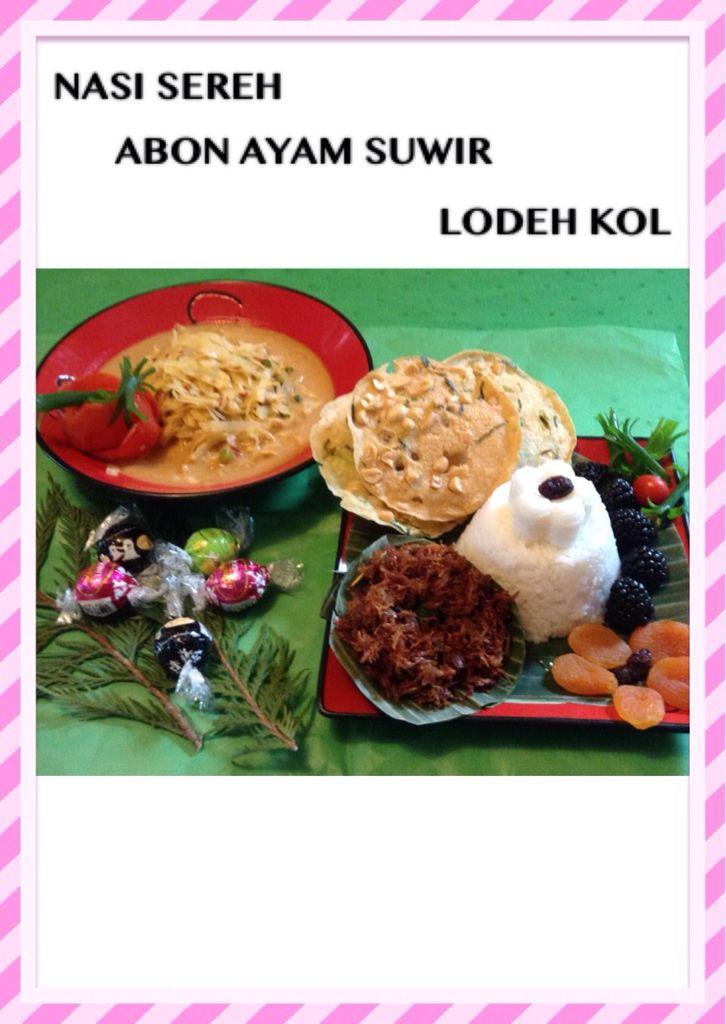 Nasi serehabon ayam suwir lodeh kol indonesian food pinterest nasi serehabon ayam suwir lodeh kol forumfinder Images