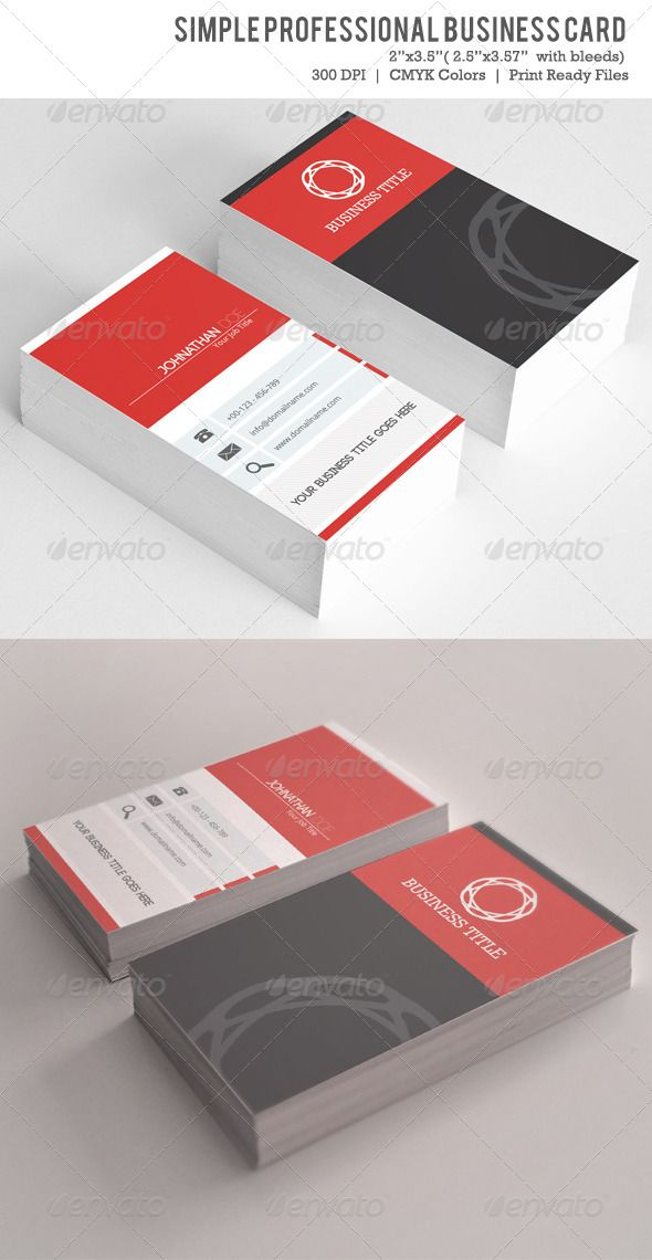 Simple business card vol 02 simple business cards business cards simple business card vol 02 reheart Images