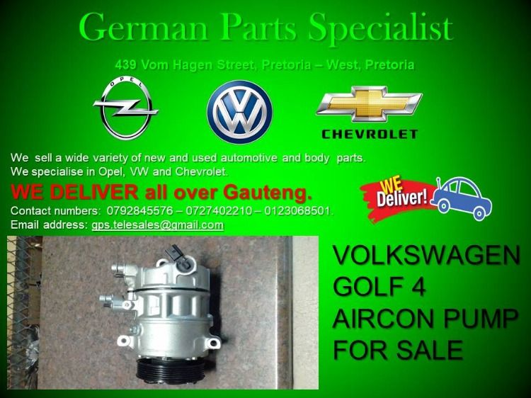 At German Parts Specialists We Specialise In Volkswagen Opel And