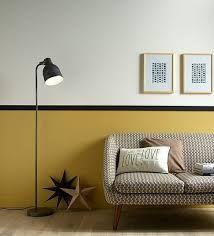Resultat De Recherche D Images Pour Deco Mur Bicolore Avec Une