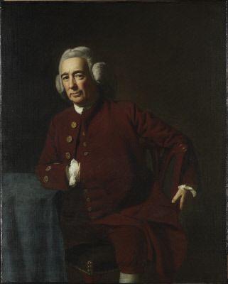 John Singleton Copley, Dr. Silvester Gardiner (c. 1772) Collections - SAM - Seattle Art Museum