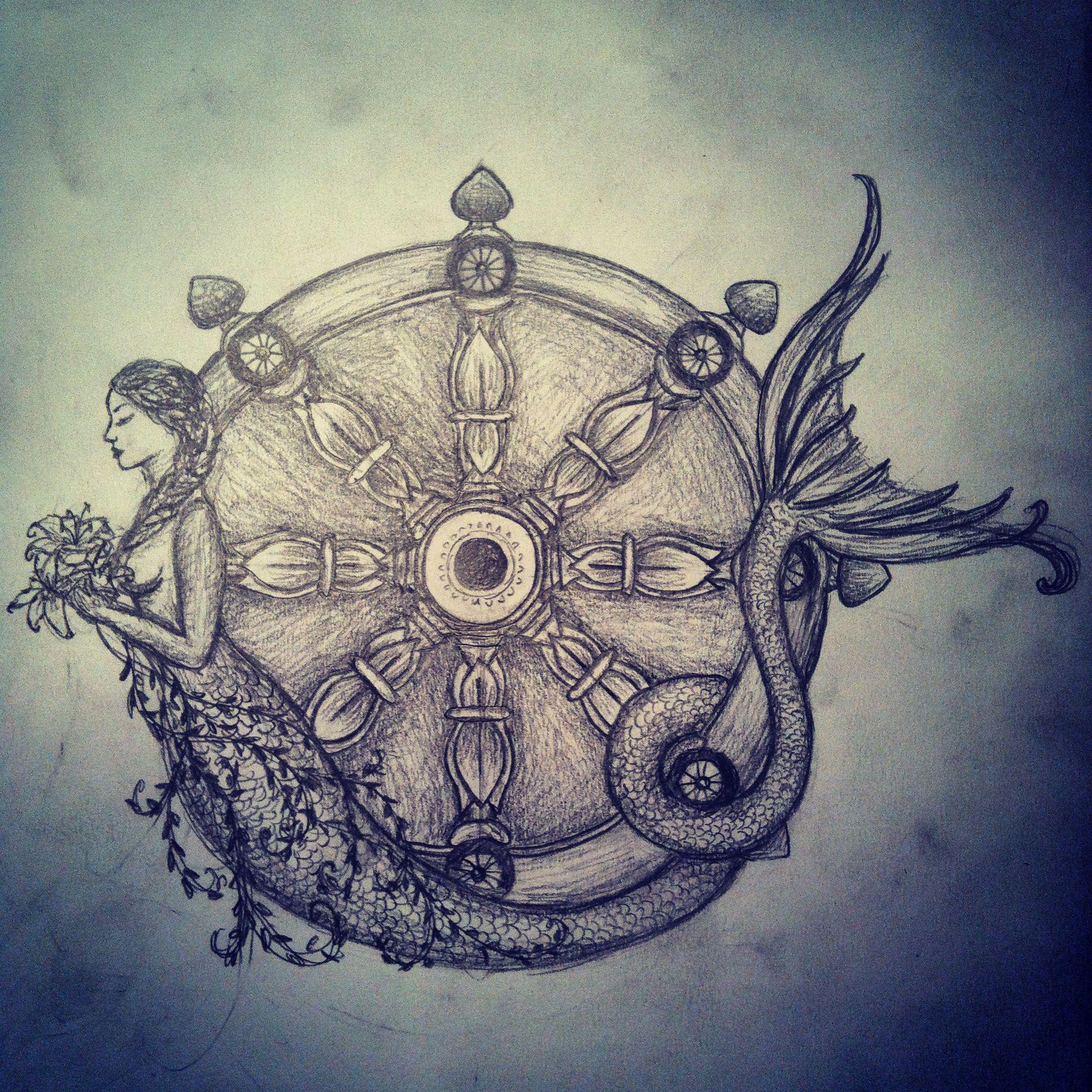 new drawing during exams siren karma wheel