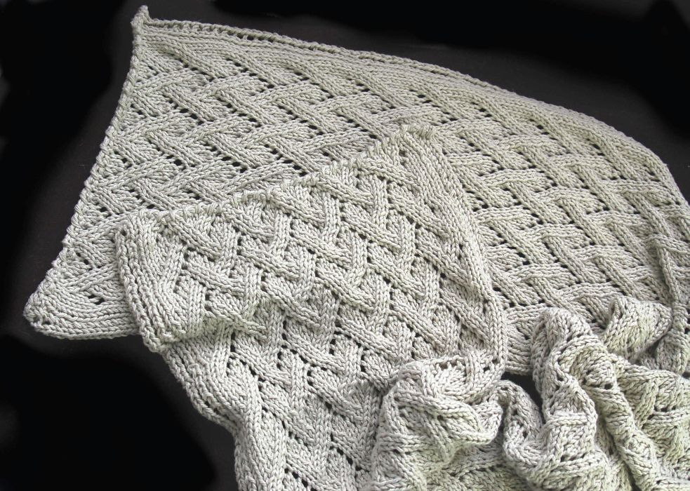 Grapevine Shawl By Susie Bonell Free Knitted Pattern Ravelry