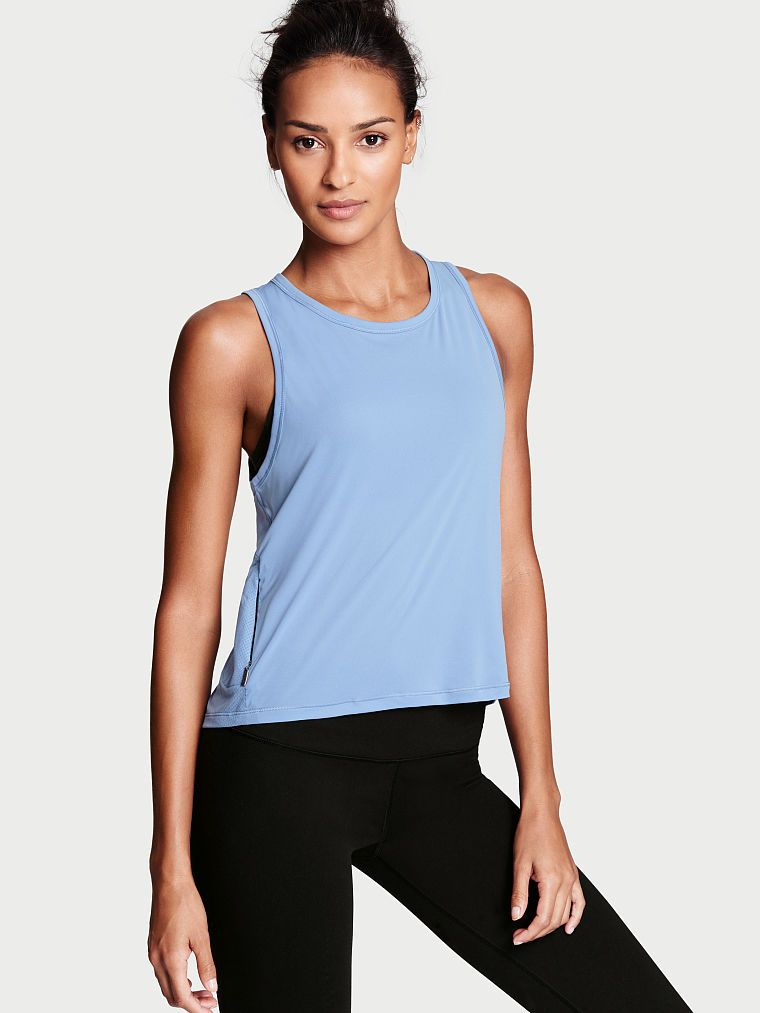 High-Low Tank   Workout tops for women