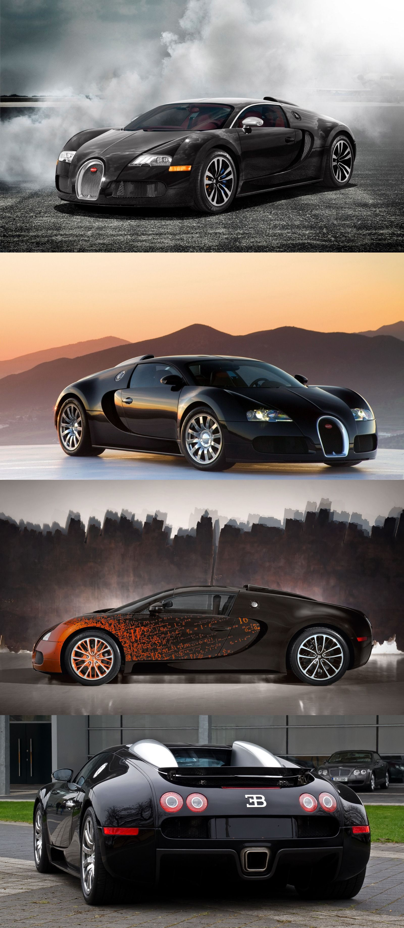 Bugatti Veyron Model Power Mileage Safety Colors Bugatti