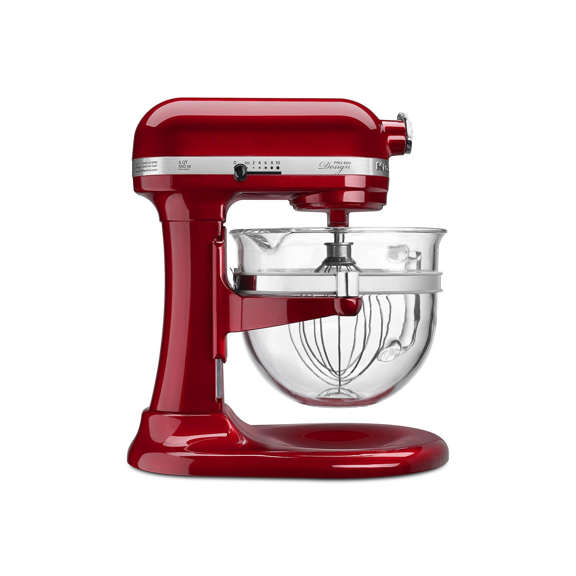 Kitchenaid kf26m22 pro 600 design series 6qt stand mixer