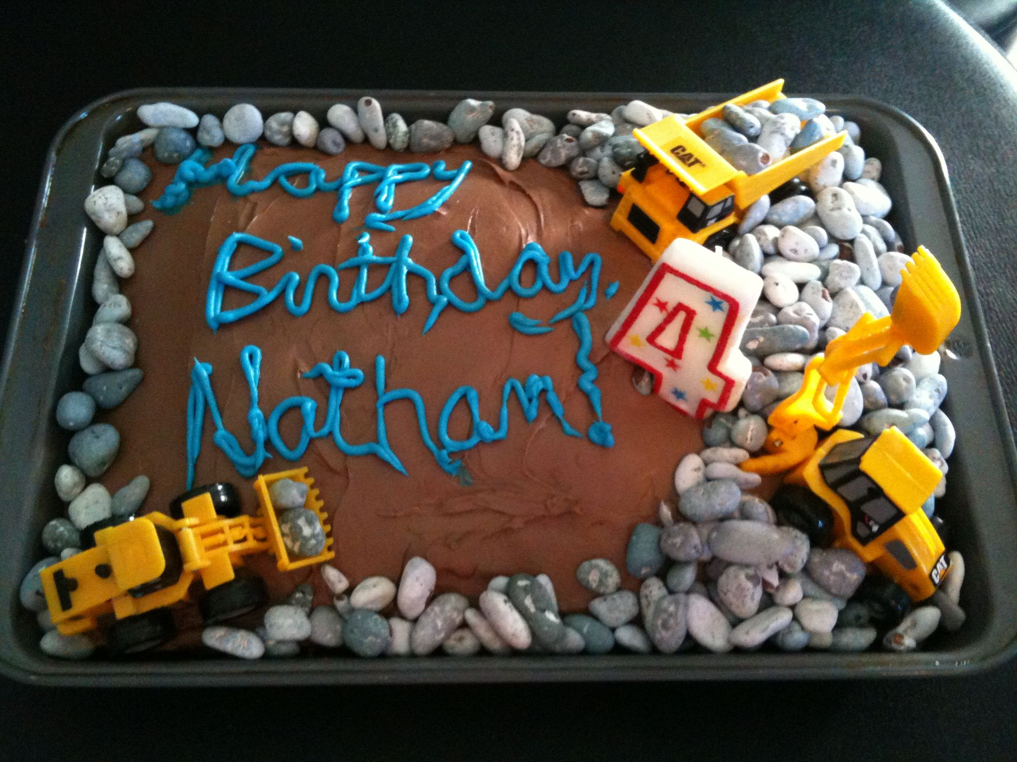dump truck cake for Tommys birthday Tommy Birthday Themes