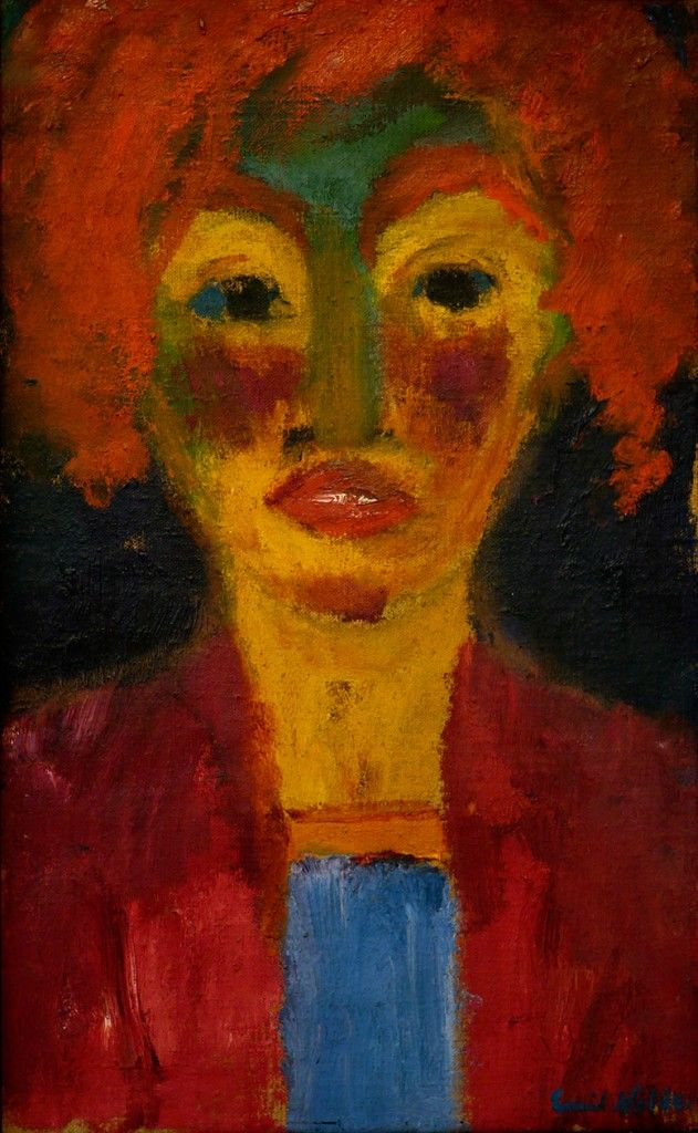 Emil Nolde - Red-Haired Girl