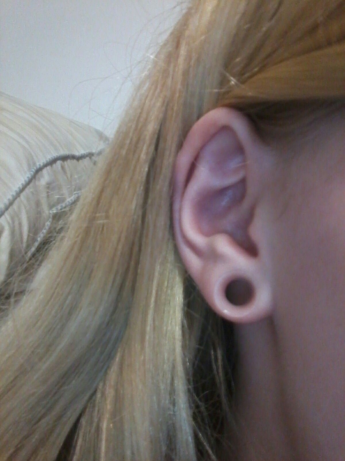 Clear Tunnels 0g Piercing Ideas Cool Piercings Ear Stretching Rings