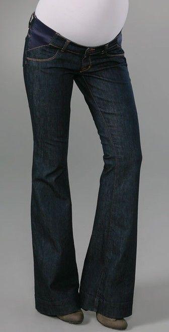 171de6f466dbd NWT J Brand Mama J Love Story in Indigo Bell Bottom Maternity Jeans 30 x 35  #JBrand #Flare