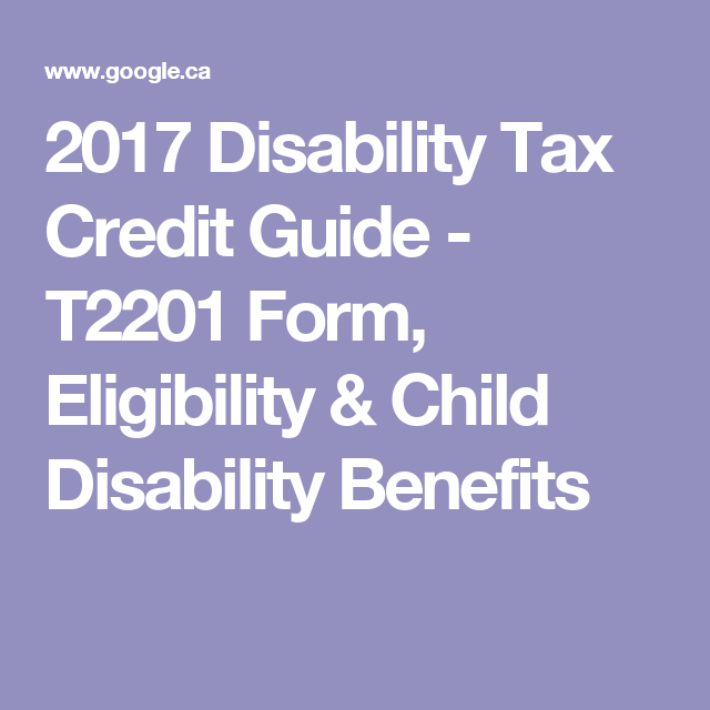 The Disability Tax Credit Ultimate Resource Guide With Images