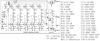 10 Channel Equalizer Transistor | guruKATRO di 2020 ...