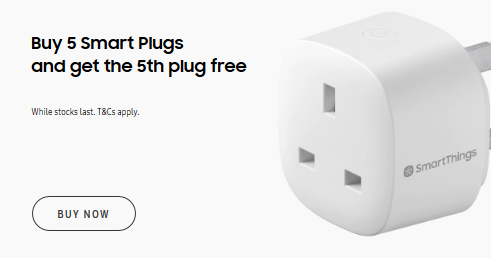 Free Samsung Smart Plug (2019) When you buy 5 Samsung