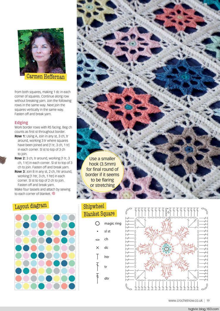 Crochet Now №15 2017 - 轻描淡写 - 轻描淡写 | Granny square and ...