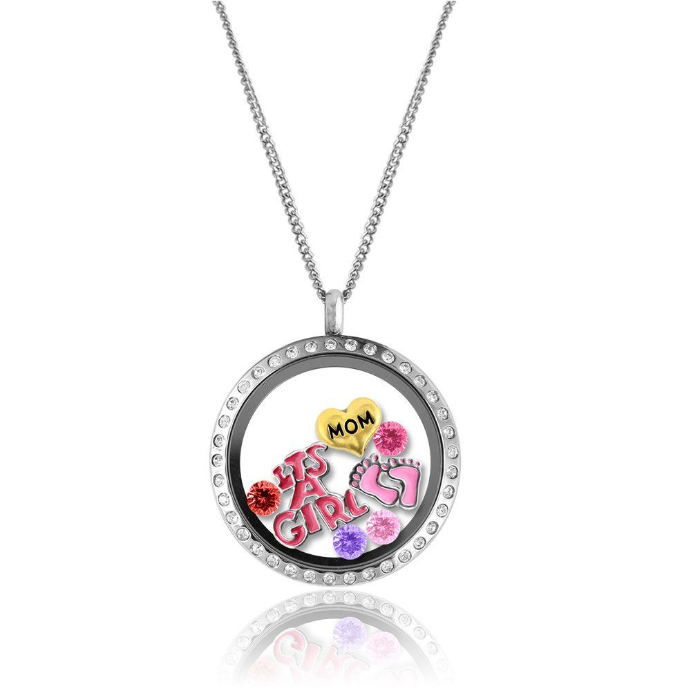 glass locket keepsake choose by lockets your baby products ryo and step name feet