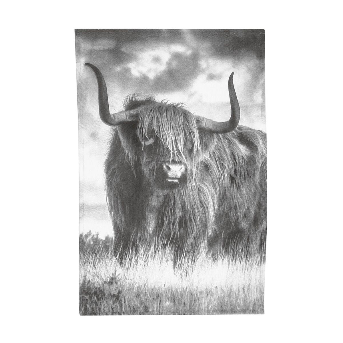 Highland Cow Tea Towel Emma Ball