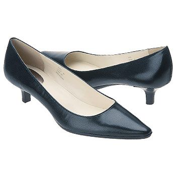 Women's Calvin Klein Diema Pump Navy Leather Shoes.com