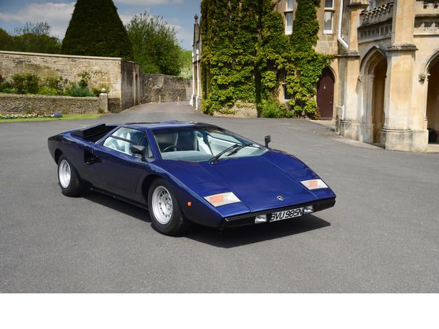 Exceptional 12,500KMs From New,1975 Lamborghini Countach LP400 U0027Periscopiou0027 Coupé  Chassis No. Design Inspirations