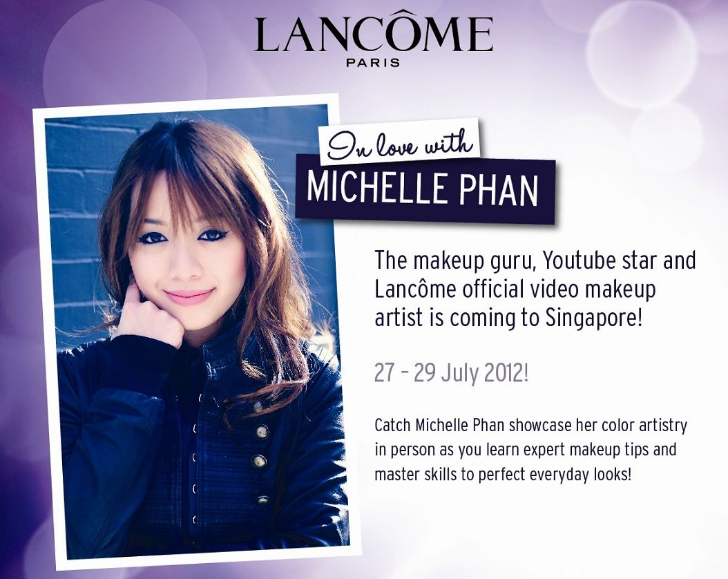 Lancome Color Artistry Workshop With Michelle Phan Michelle Phan Lancome Michelle