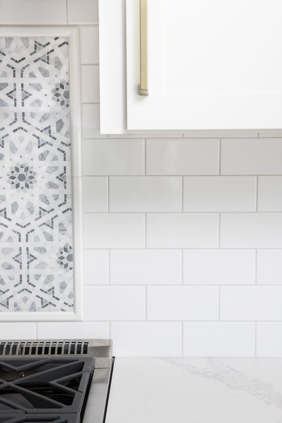 - White Subway Tile With Gray Grout: My Favorite Grays White