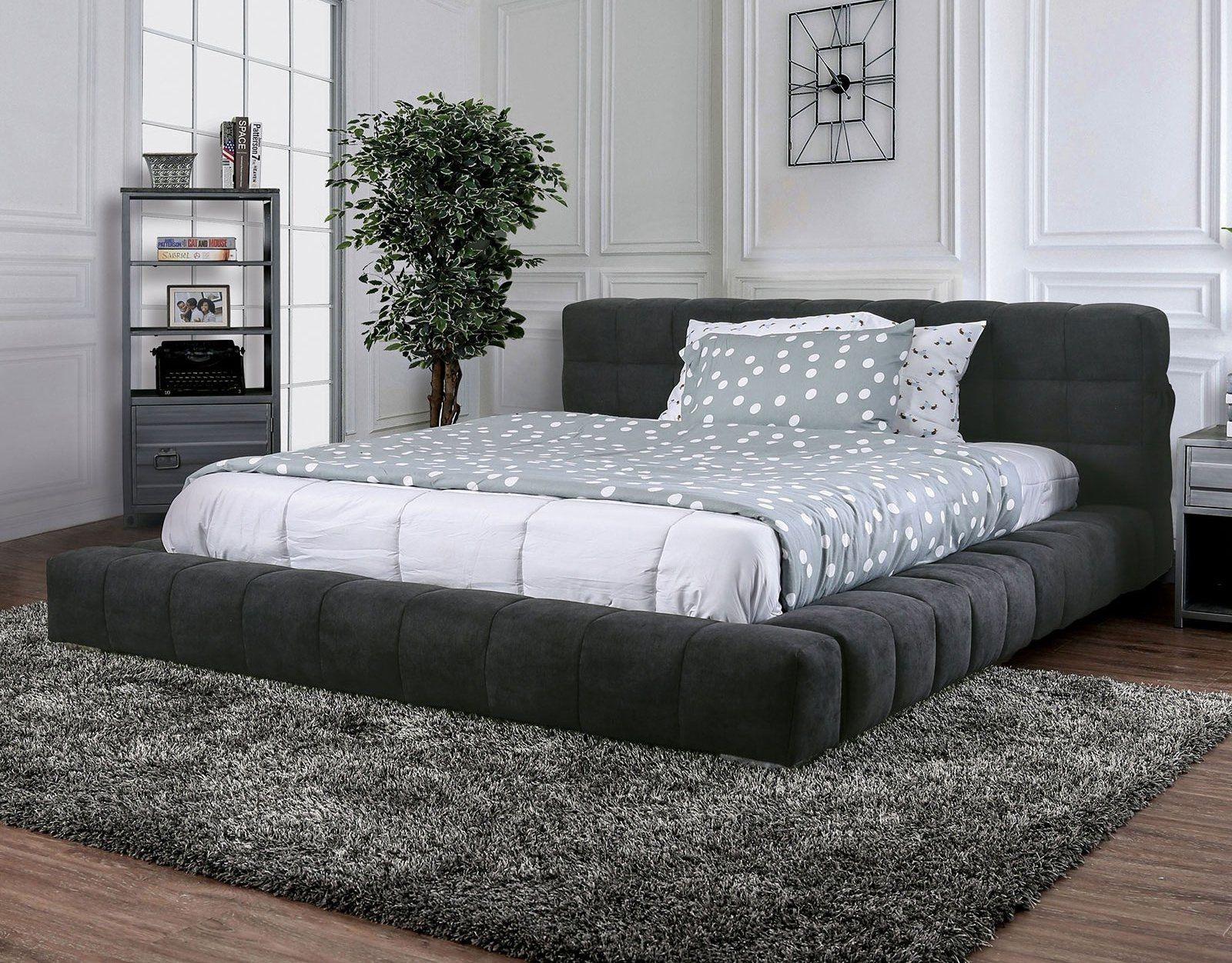 Wolsey King Size Bed Cm7545ek Furniture Of America King Size Beds In 2020 King Sized Bedroom Low Bed Frame King Size Bedroom Sets