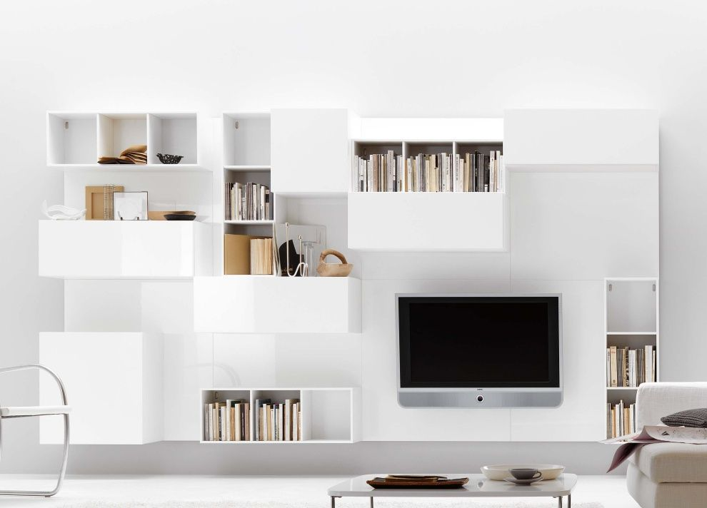 Tempo TV/Wall Unit , Wall Storage Systems, Go Modern Furniture