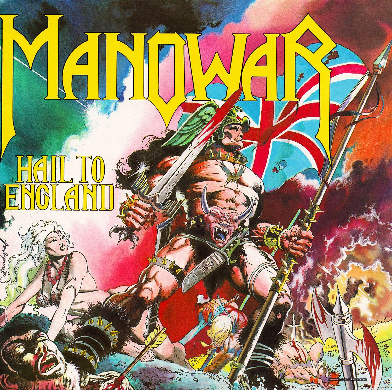 Classic metal album covers manowar hail to england for Classic house album