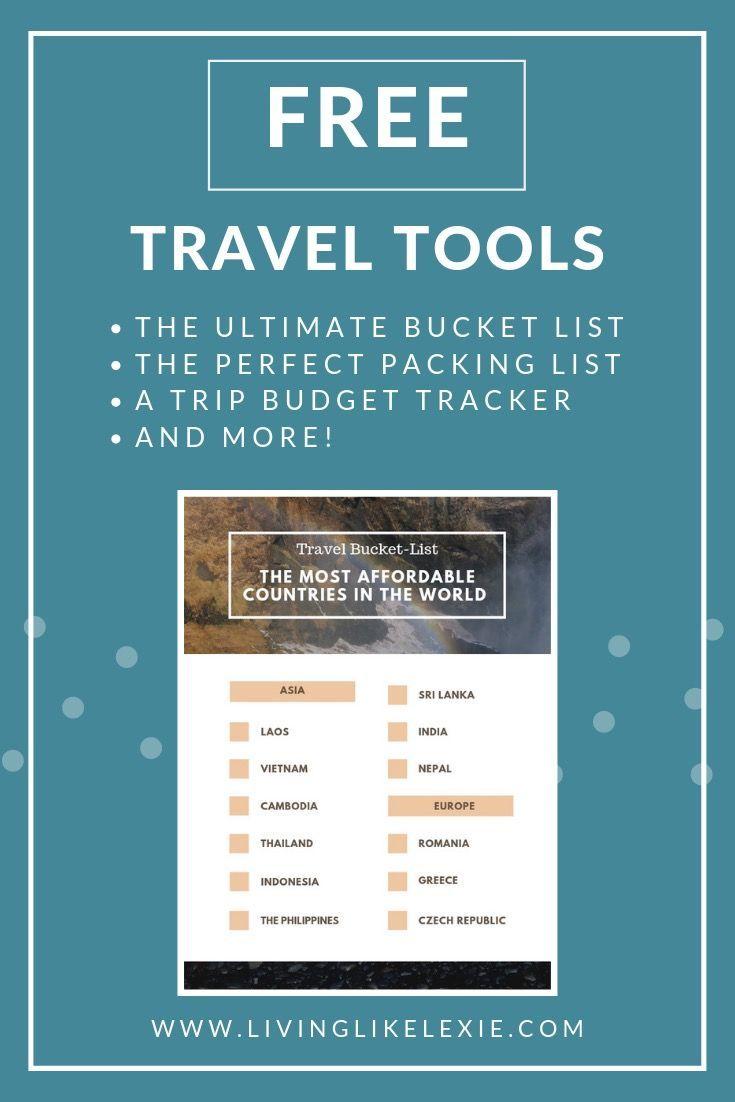 Free Travel Tools Travel Tools Free Travel Packing List For Travel