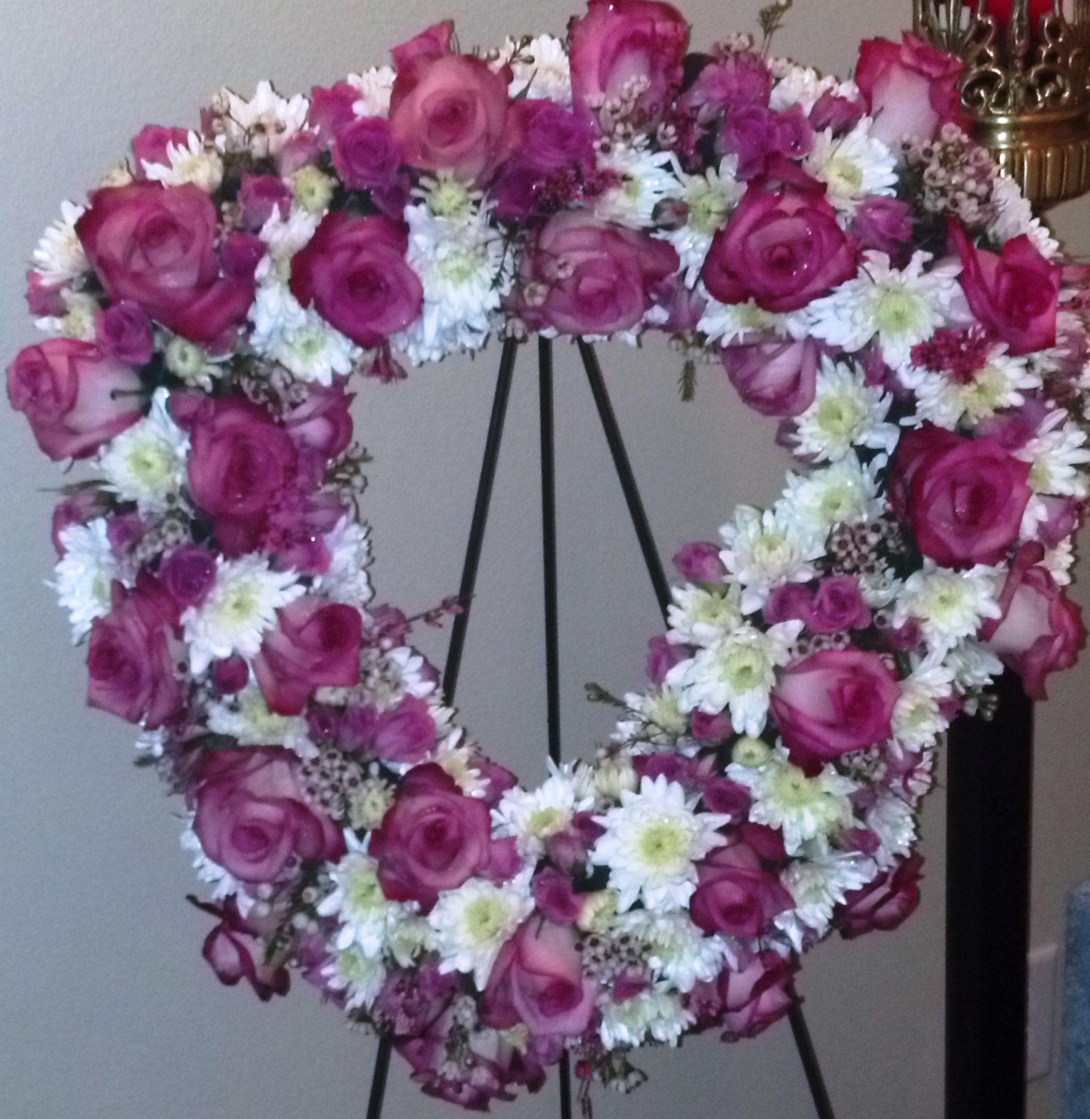 Funeral heart.