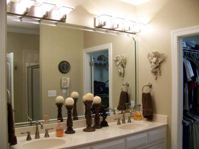 Bathroom Lighting Fixtures Over Mirror | Bathroom Mirror Lighting ...
