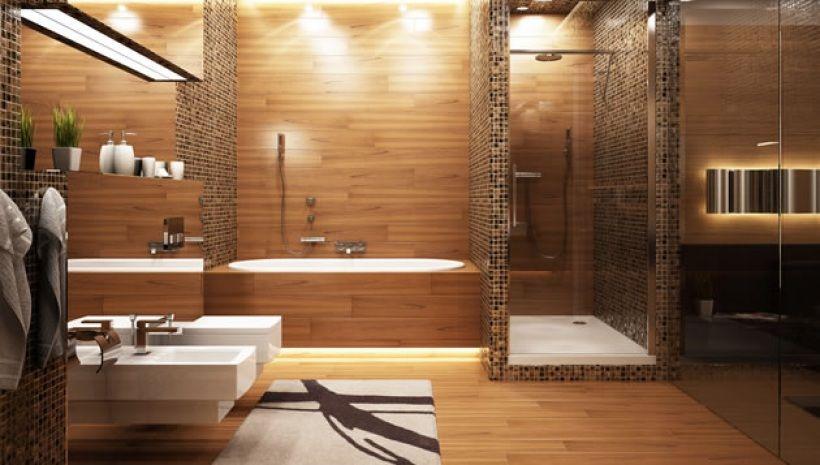 douche italienne et baignoire dans petite salle de bain ...