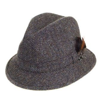 d3bf591585e Failsworth Elgin Harris Tweed Wool Drop Brim Hat Failsworth Hats Ltd has  been manufacturing ladies hats and men s hats since 1903 and has two design