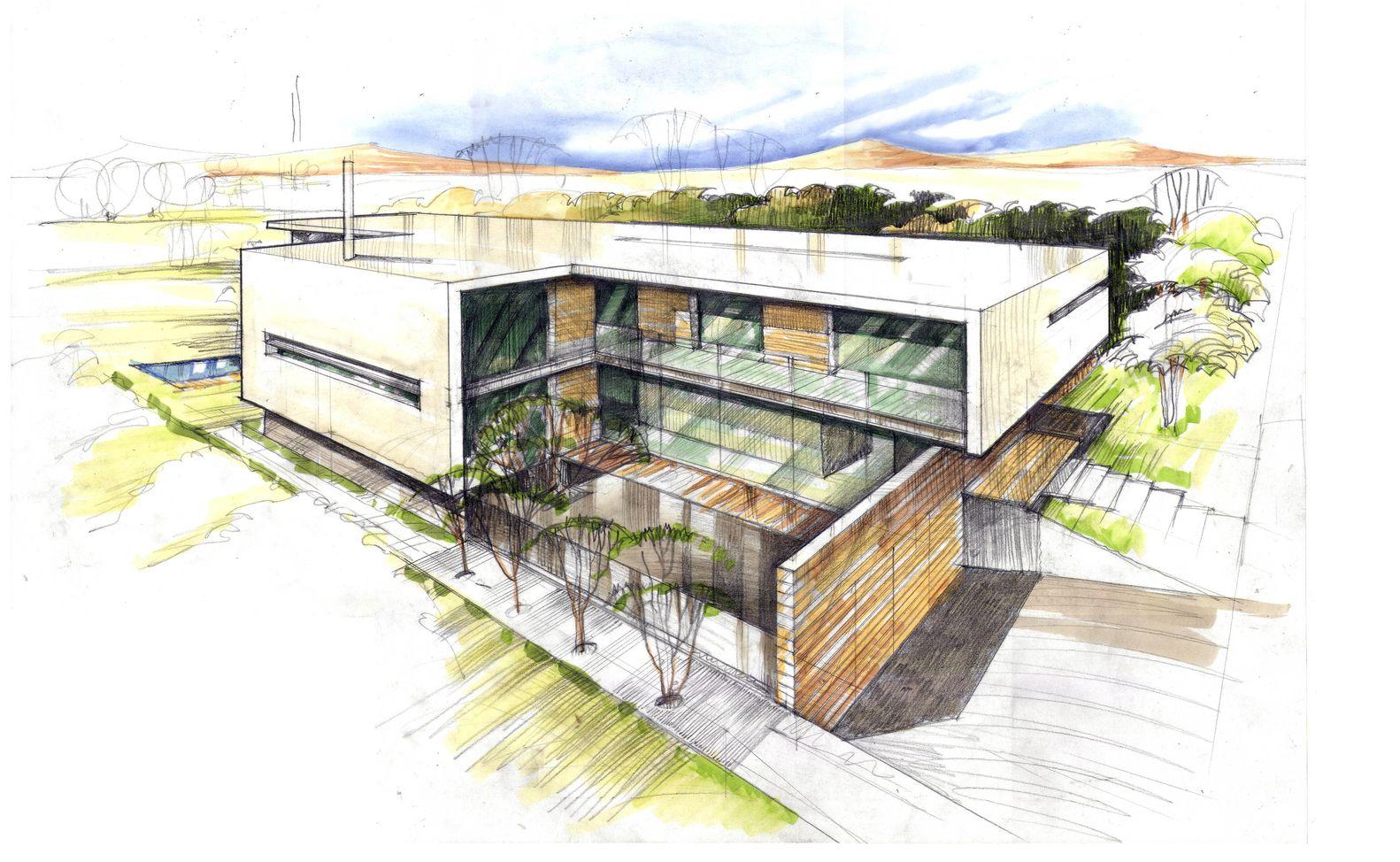 Galer a de casa m2 hern ndez silva arquitectos 30 for Arquitectura tecnica a distancia