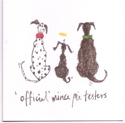 Official mince pie tasters christmas card by sam toft just love official mince pie tasters christmas card by sam toft just love this m4hsunfo