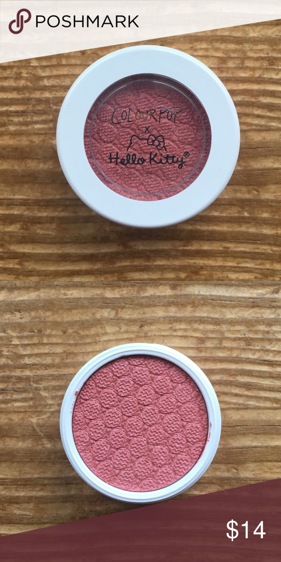 645d0c0e3 ColourPop Small Gift Supershock Hello Kitty New Brand new, never used super  shock shadow from ColourPop in the shade small gift. Sold as part of a  limited ...