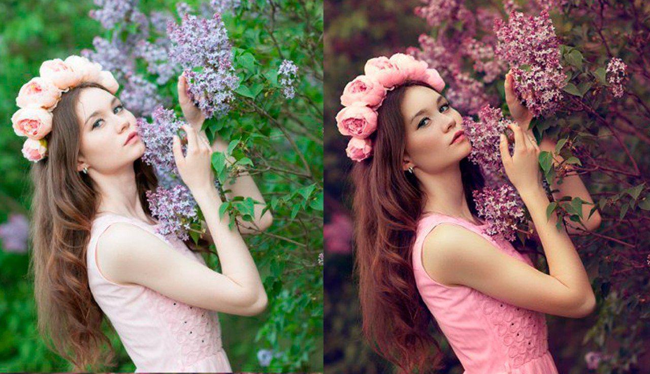 Обработка фотографий в стиле фотографа