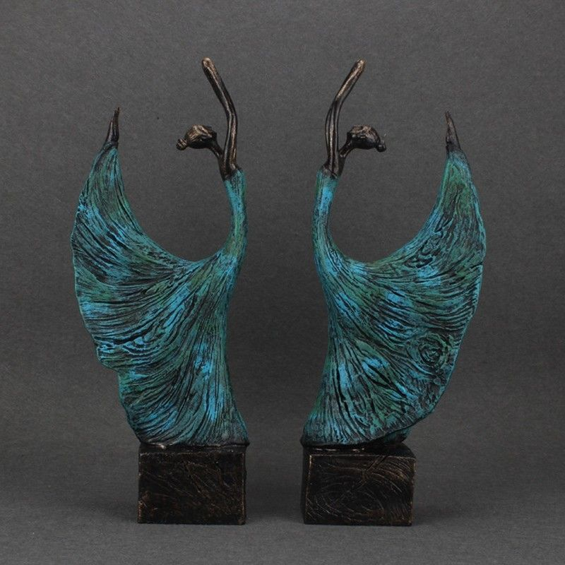 Aliexpress.com : Buy Fashion Arts Decorative Crafts Dancer Statue Decoration  Accessories Personality Home Decor