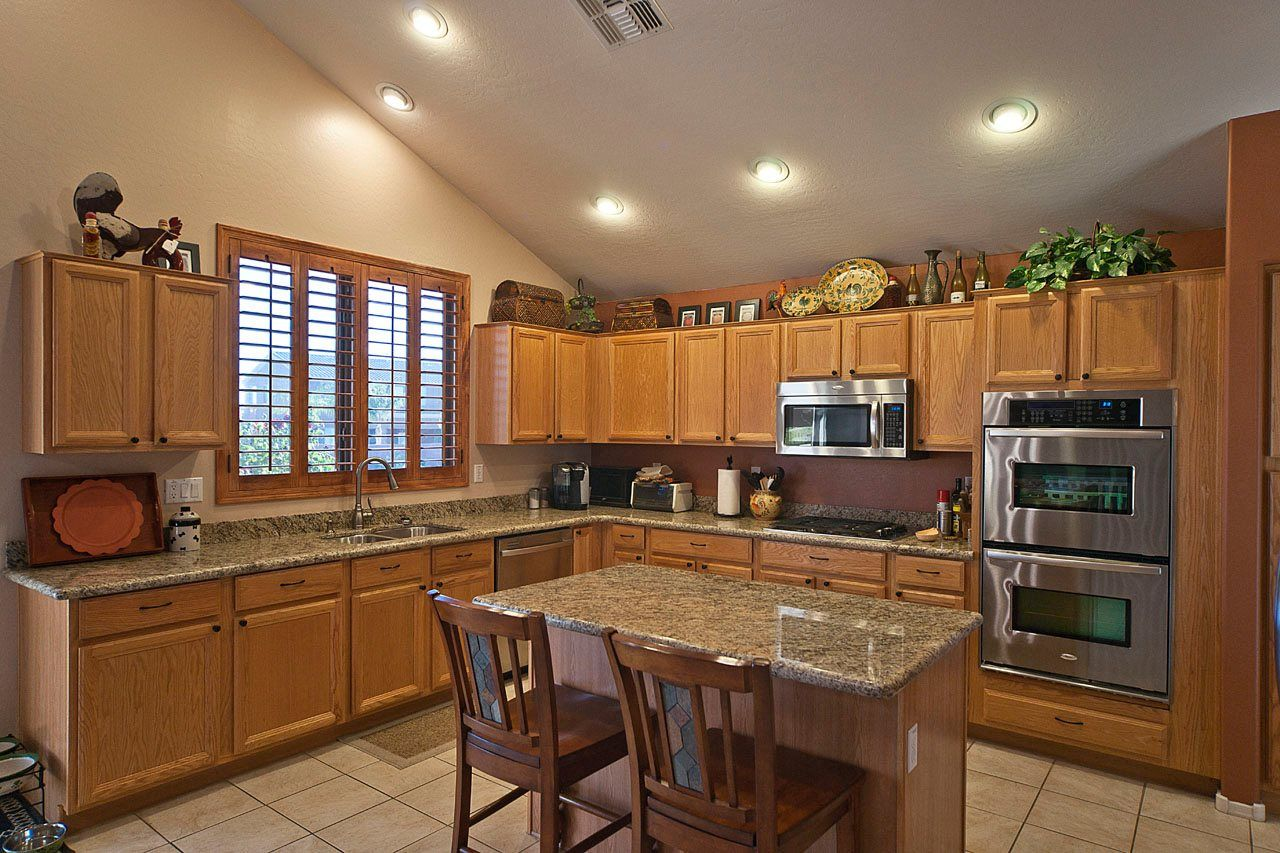 Kitchen Modern Recessed Lights Also L Shaped Kitchen With Small