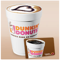 Coupon – FREE Medium Beverage at Dunkin Donuts