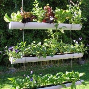 Un #jardin suspendu ! | La \'récup\' au jardin | Pinterest | Deco ...