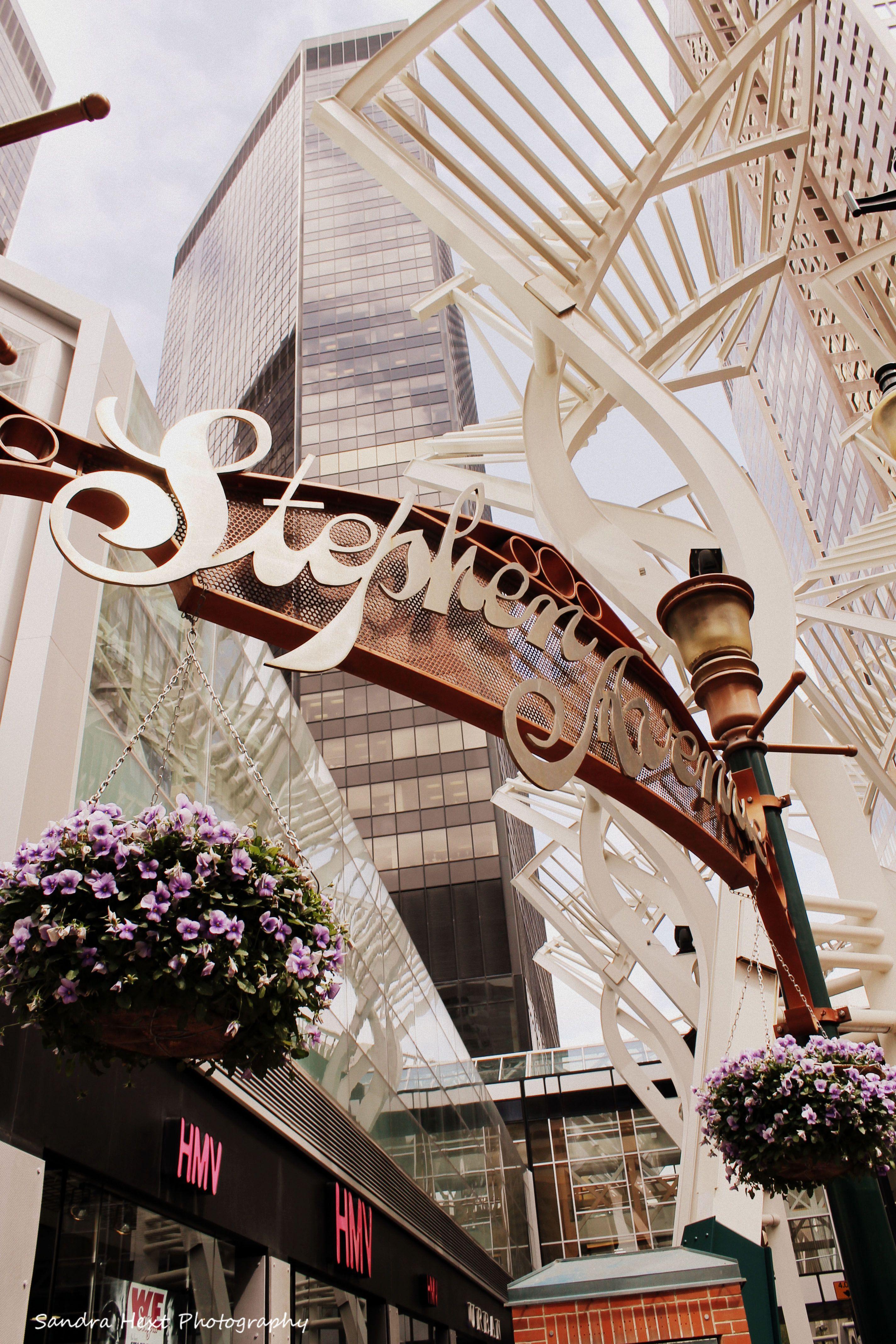 Stephan Avenue Calgary...an awesome avenue with great patio restaurants