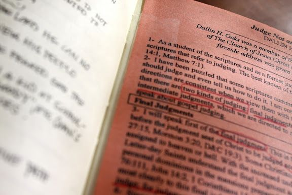 How to shrink a talk or story down small enough to fit in your scripture journal