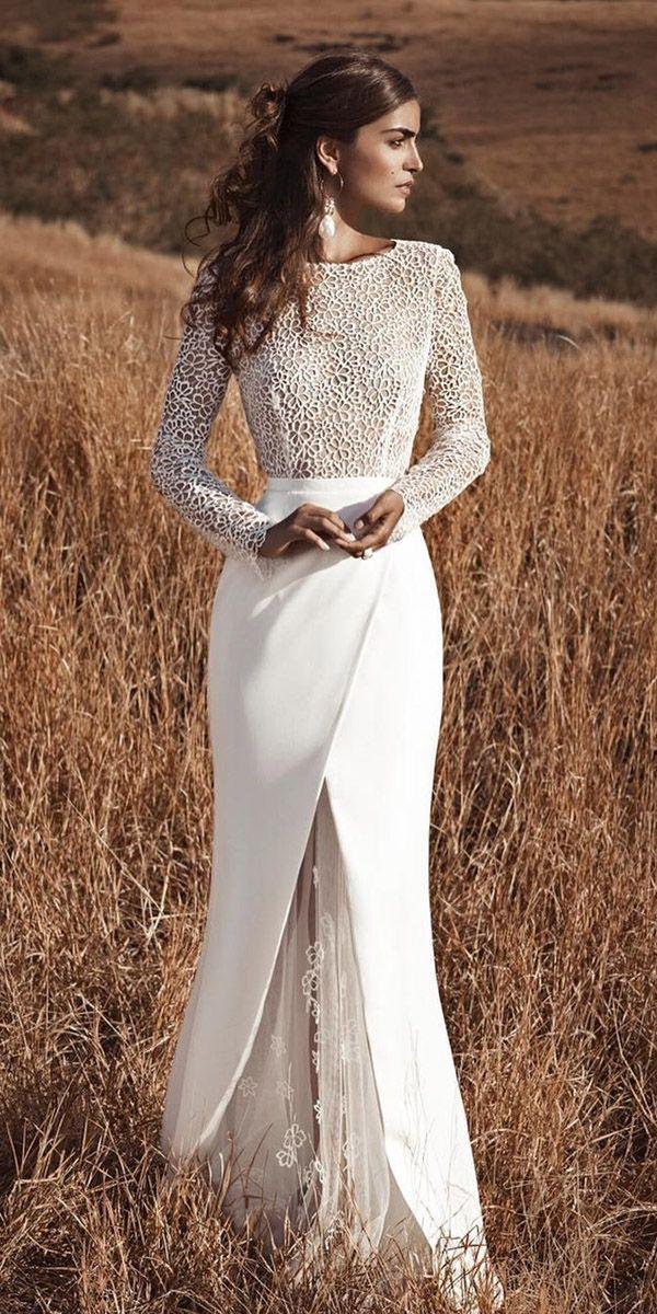 Bescheidene Brautkleider Deines Traums ★ bescheidene Brautkleider mit