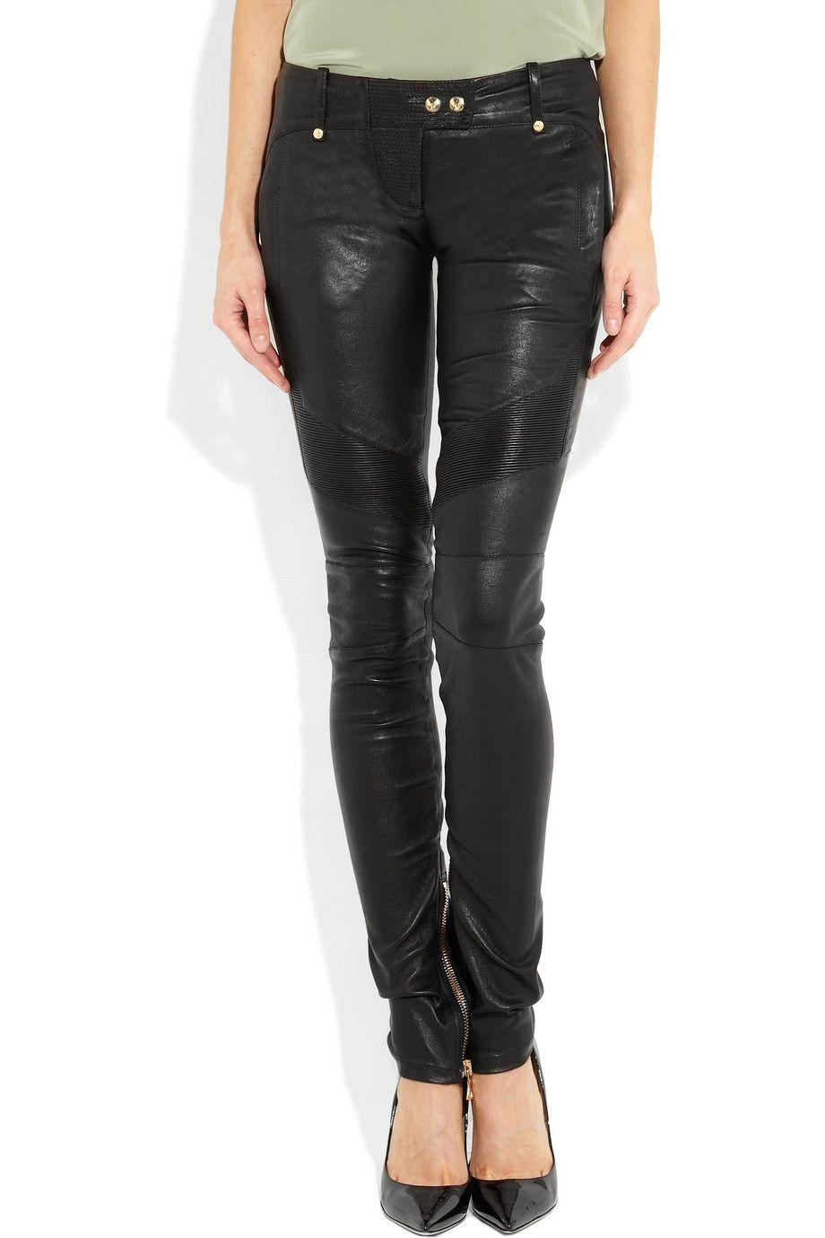 55ddafc0890 Balmain   Skinny leather pants   NET-A-PORTER.COM   Daddy Like ...