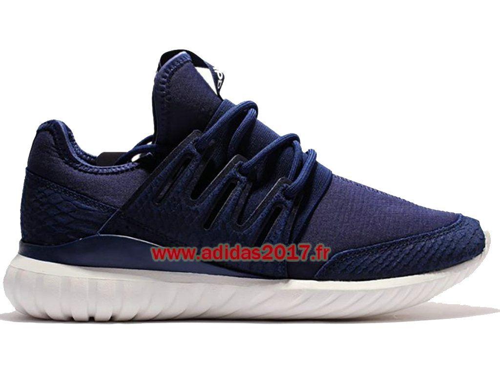 adidas tubular radial bleu