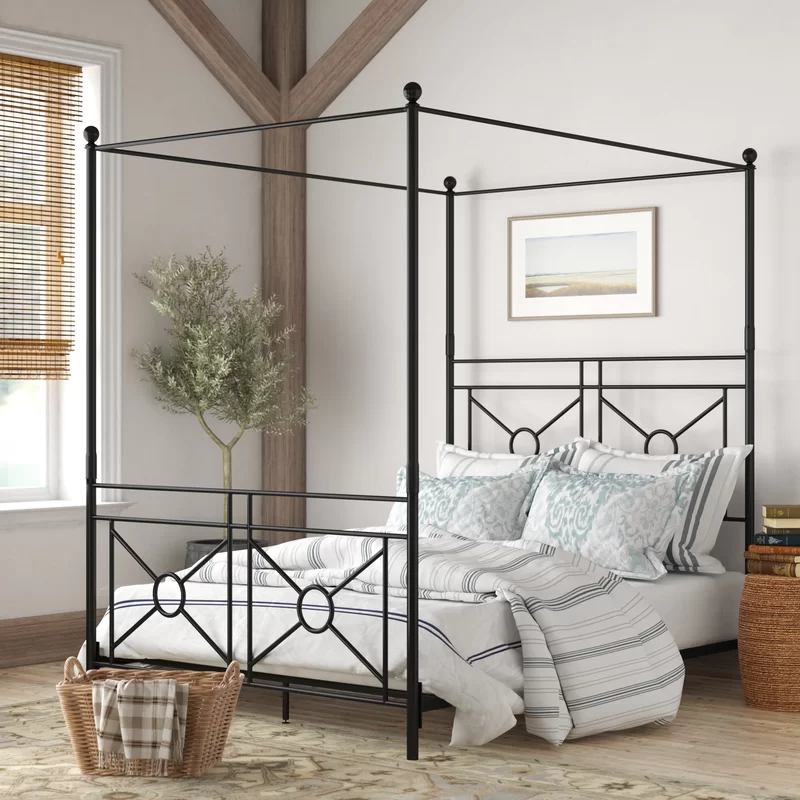Berkey Canopy Bed in 2020 Adjustable beds, Canopy bed frame
